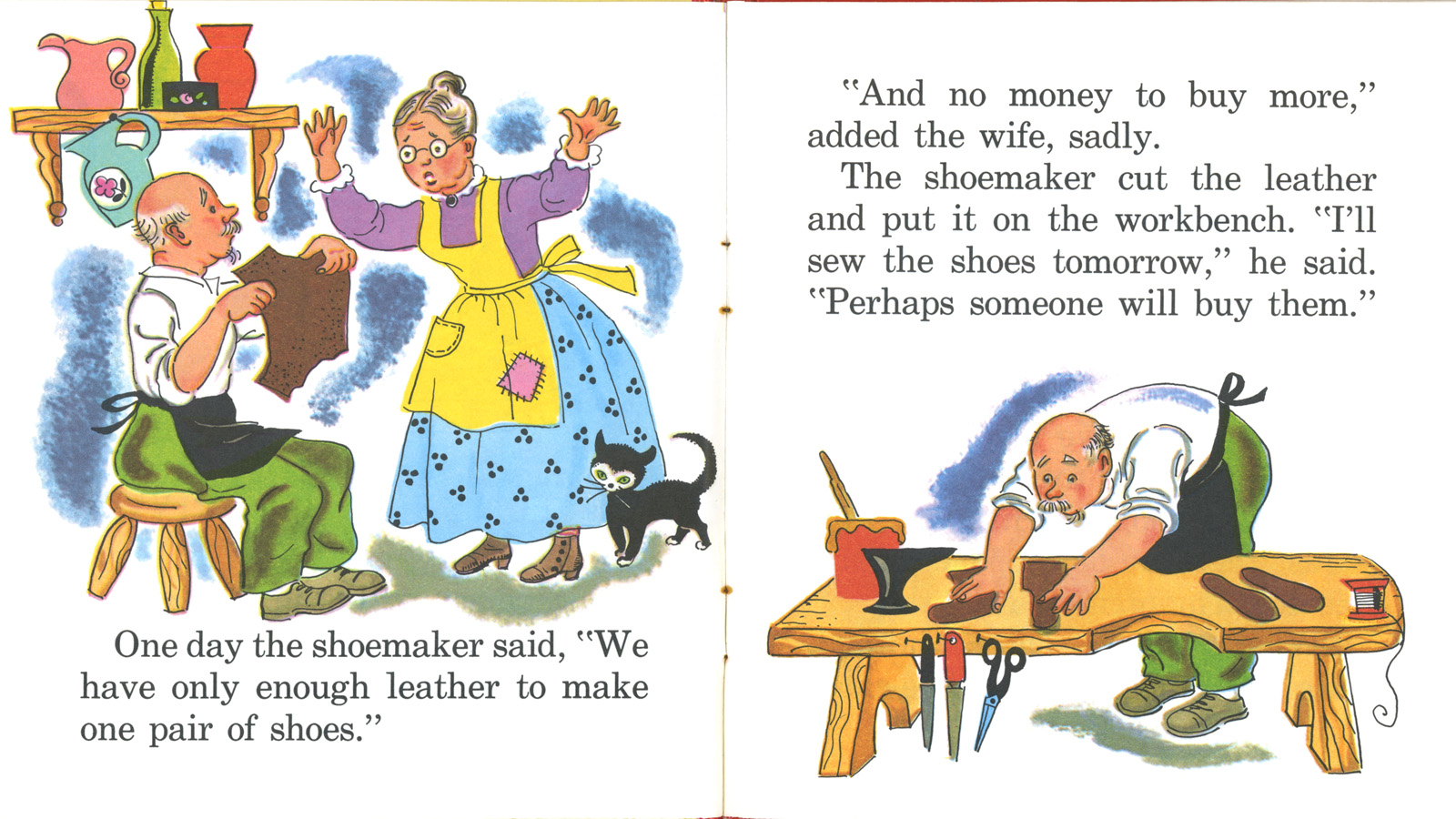Kids Short Moral Stories Very Short Moral Stories For Shoemaker and the elves story with pictures