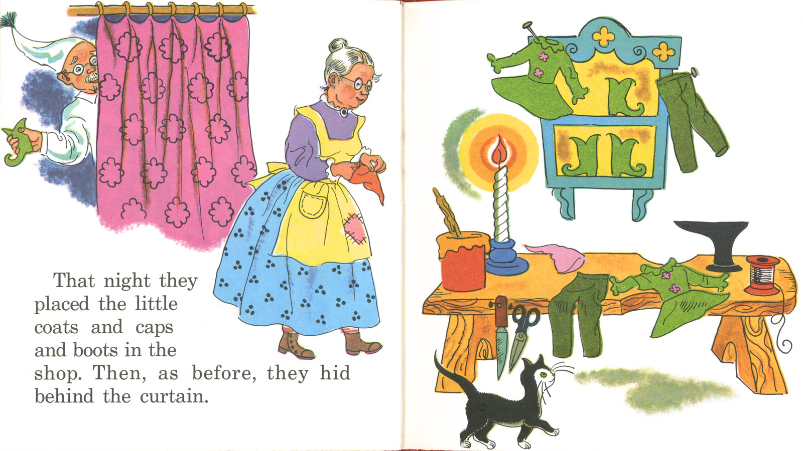 Shoemaker and the elves story with pictures The Elves and the Shoemaker - m