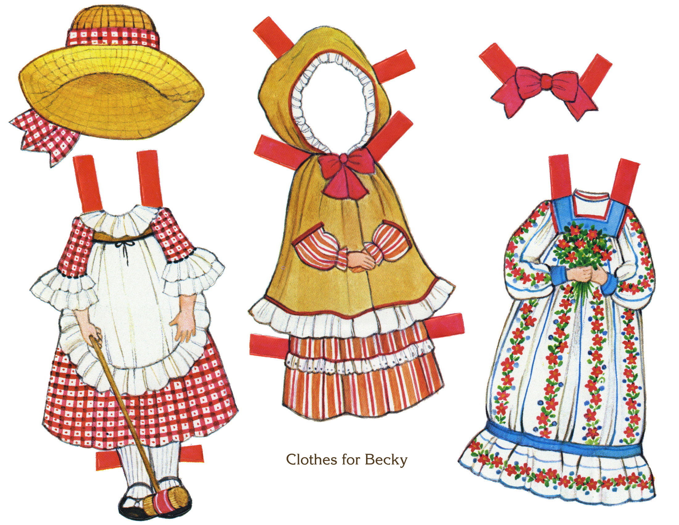 how to make personalized paper dolls
