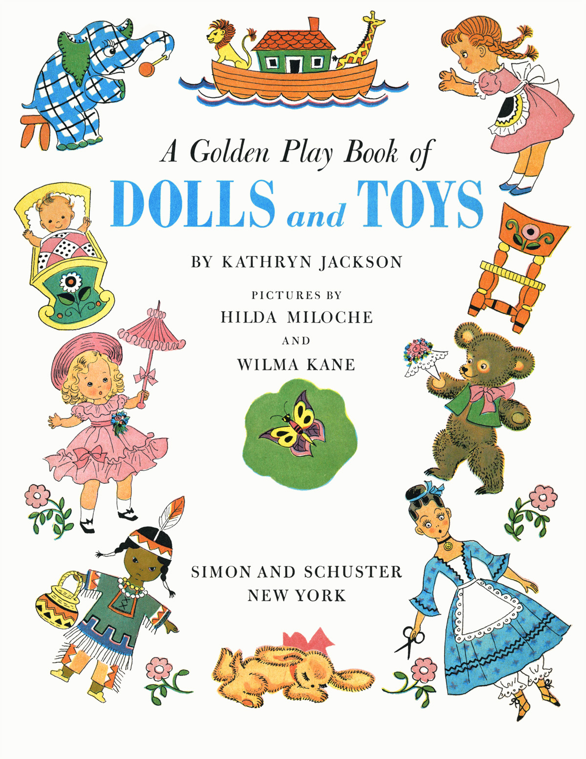 Golden Play Book Of Dolls Amp Toys P1