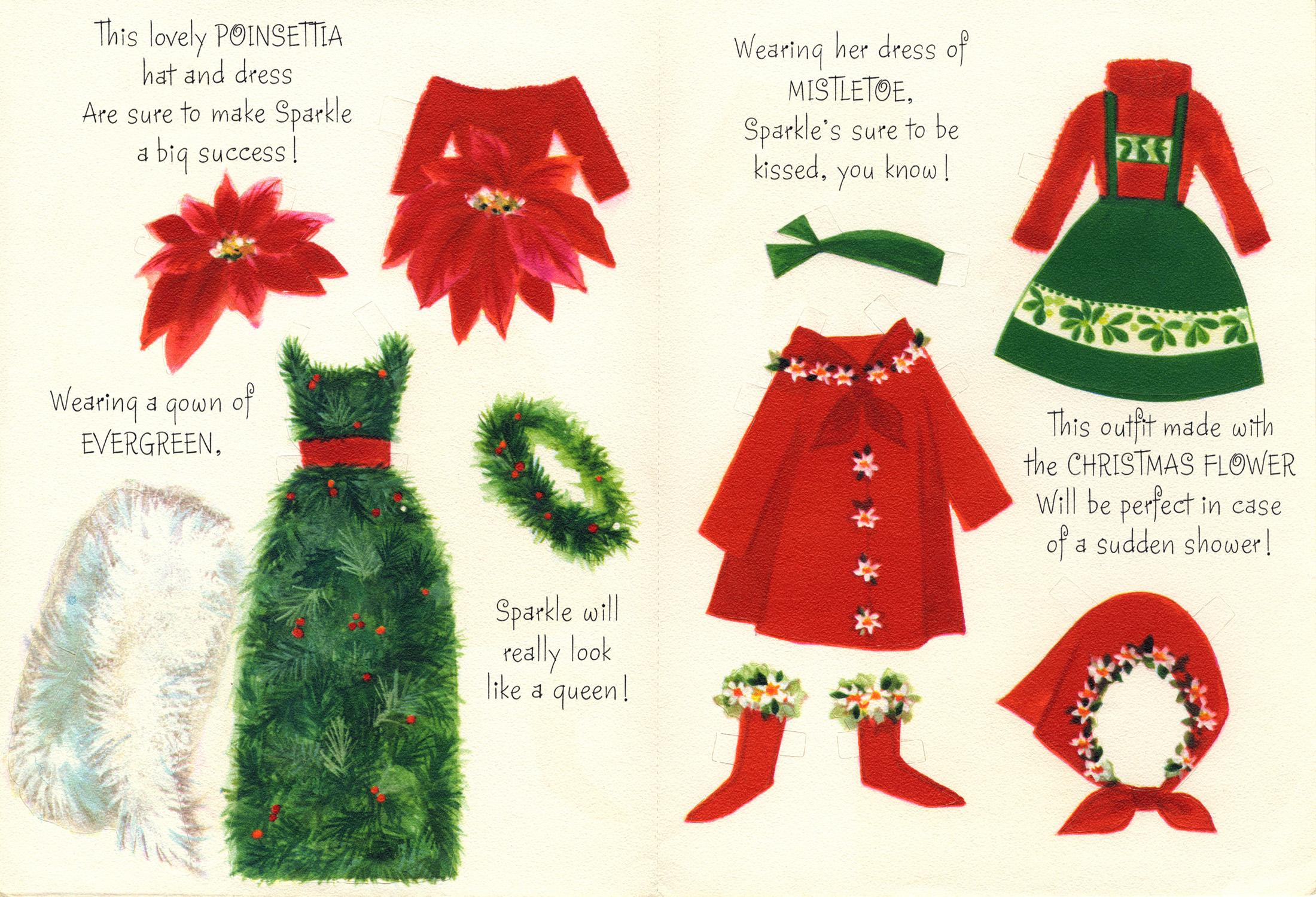 Sparkle Hallmark Christmas Card P2